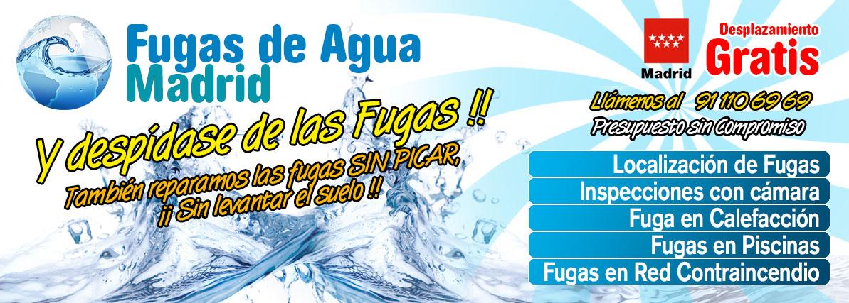 Fugas de agua madrid for Fugas de agua madrid